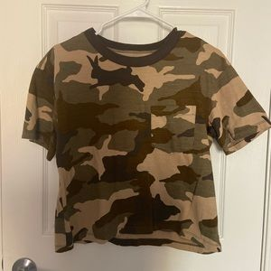 Madewell camouflage T-shirt